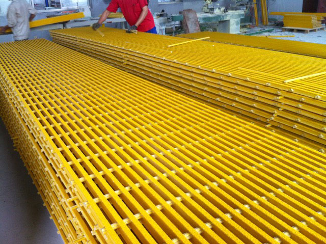 Pultruded Fiberglass Grating By Icomposite International